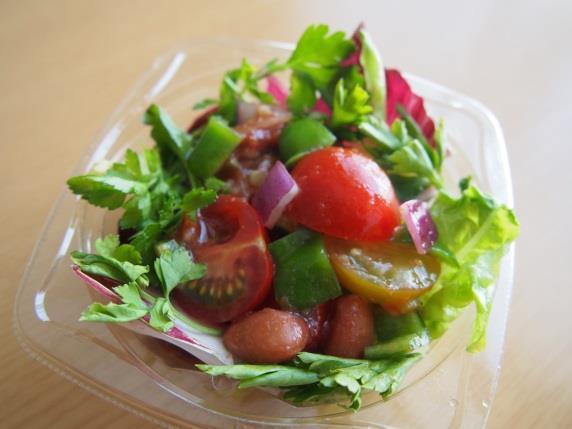 5月 抗酸化サラダ(ミニトマトのメキシコ風サラダ)